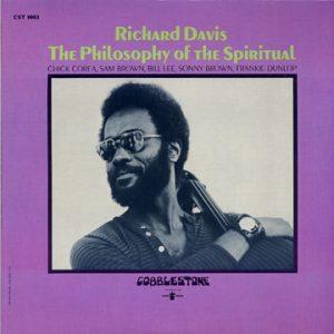 Album cover from Richard Davis' 1971 album The Philosophy of the Spiritual