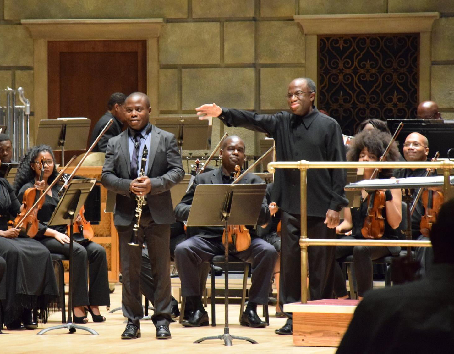 Anthony McGill at Gateways Music Festival with Michael Morgan conducting